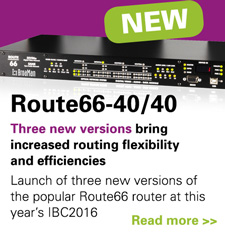 BROAMAN STREAMLINES ROUTE66 FOR IBC2016 SHOWCASE