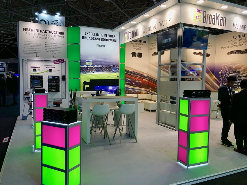 IBC2019 booth